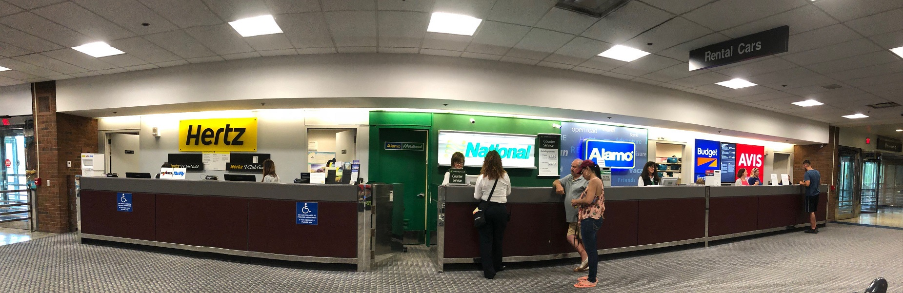 Car Rental Counter