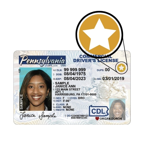 pa junior drivers license driving out of state